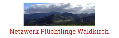 """Logo des """"Netzwerks Flüchtlinge Waldkirch"""""""
