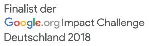 Finalist der Google.org Impact Challenge Deutschland 2018
