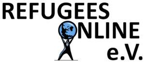 """Logo des Vereins """"Refugees Online e. V."""""""