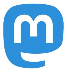 Logo des Microblogging-Dienstes Mastodon