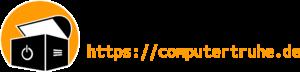 "Logo des Vereins ""Computertruhe e. V."" inkl. URL"