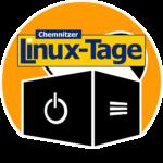 """Verschmelzung unseres """"Computertruhe""""-Logos mit dem Logo der """"Chemnitzer Linux-Tage""""."""