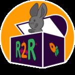 """Verschmelzung unseres """"Computertruhe""""-Logos mit dem Logo der """"R2R""""."""